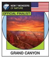 The Grand Canyon pin