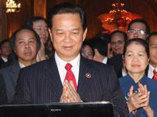 The Prime Minister of Vietnam, Nguyen Tan Dung