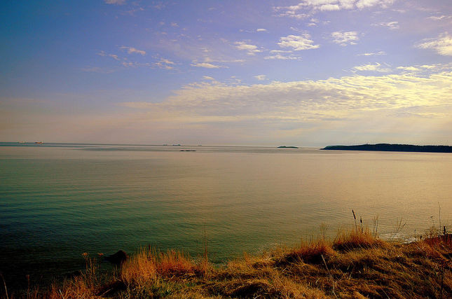 The Bay of Fundy is famous for its coasts and  tides.