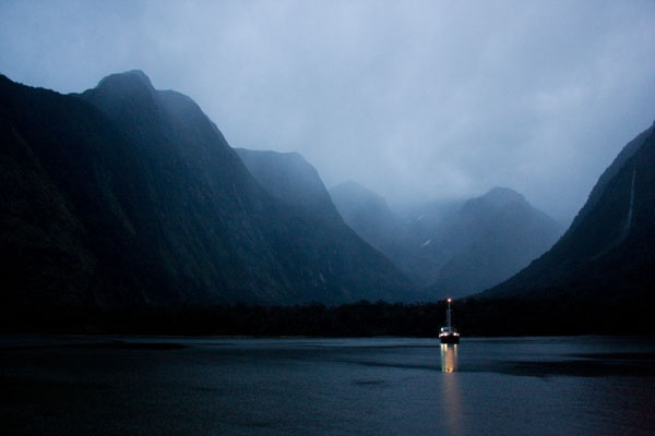 The magical, mystical landscape and seascape of Milford Sound