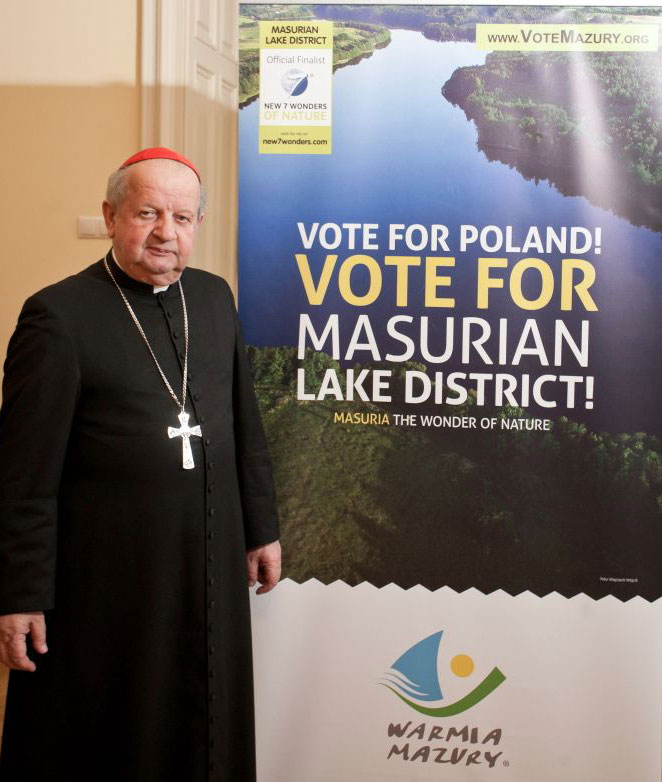 Cardinal Stanislaw Dziwisz, Archbishop of Kraków and former personal secretary to Pope John Paul II