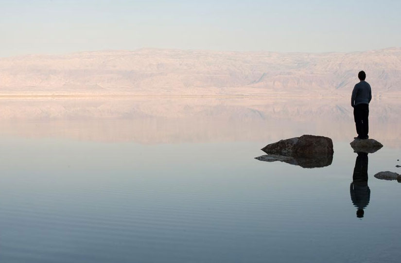 The Dead Sea is the lowest place on earth and the saltiest lake in the world.
