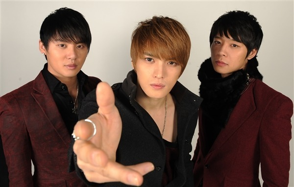 Big in Korea and Japan. JYJ: Hero Jaejoong, Micky Yoochun and Xiah Junsu.