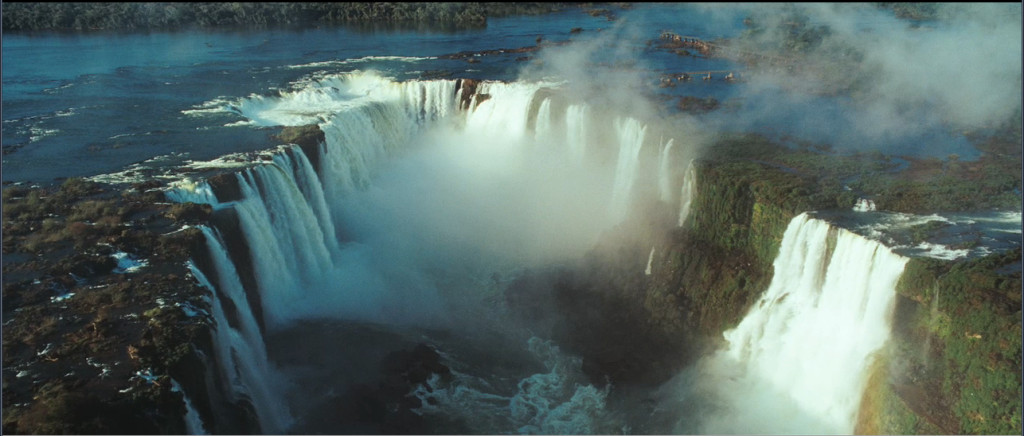 Iguazu Falls are called Cataratas del Iguazú in Spanish and Cataratas do Iguaçu in Portuguese.