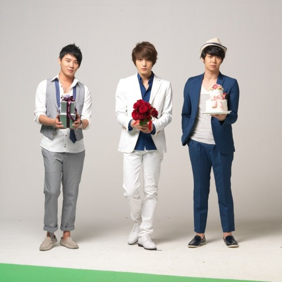 JYJ are Xiah Junsu, Kim Jaejoong and Micky Yoochun