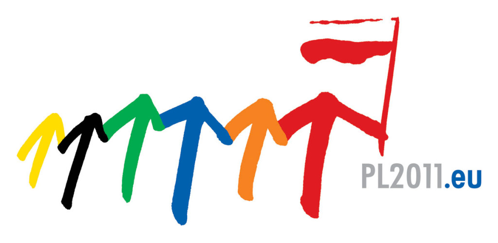 The official logo of the Polish Presidency is dynamic and looking towards the future. Its symbolism focuses on the idea of community, cohesion of activity and solidarity.