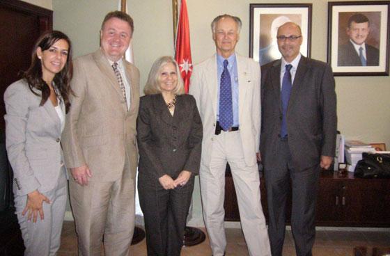 New7Wonders delegation in Jordan