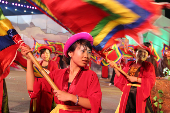 The spectacular May Day ceremonies in Quang Ninh Province marking the Official Inauguration of Halong Bay as one of the New7Wonders of Nature were marked by regional colour and flair.