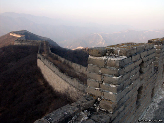One of the Official 7 Wonders of the World, the Great Wall of China is a series of fortifications built along the historical northern borders of China.