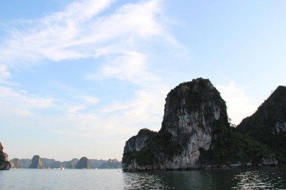 """On 1 May, a very special day in the calendar of Vietnam, the celebrations moved to Halong Bay itself, the place that had been added to the New7Wonders """"canon of 7""""."""