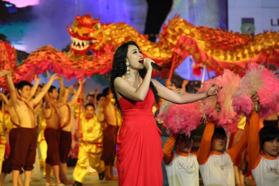 The modern face of Vietnam in the form of some of its most popular contemporary performers was also visible during the Official Inauguration ceremonies in Hanoi for Halong Bay.
