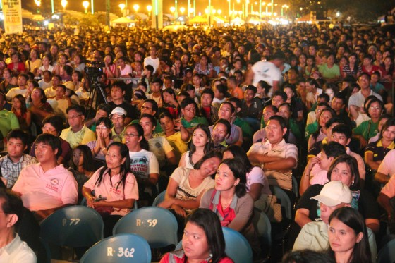 Of the people, for the people, by the people… In Puerto Princesa City, people gather to celebrate the Official Inauguration of their underground river as one of the New7Wonders of Nature.