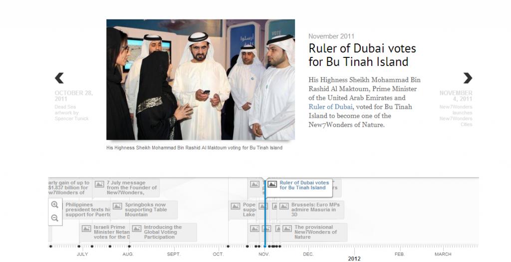 Ruler of Dubai votes for Bu Tinah Island