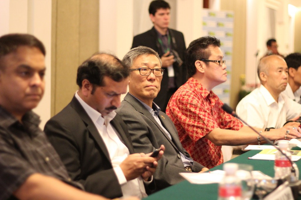 Delegates from New Wonders host countries, the W20