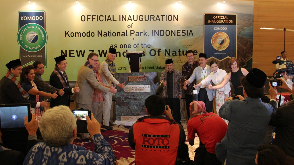 Plaque presentation in Jakarta