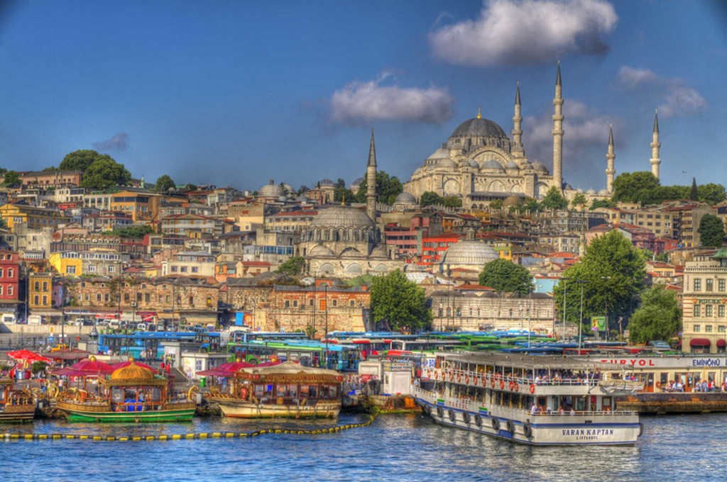 On the list, Istanbul. A city with a history as a hub of world affairs for centuries.