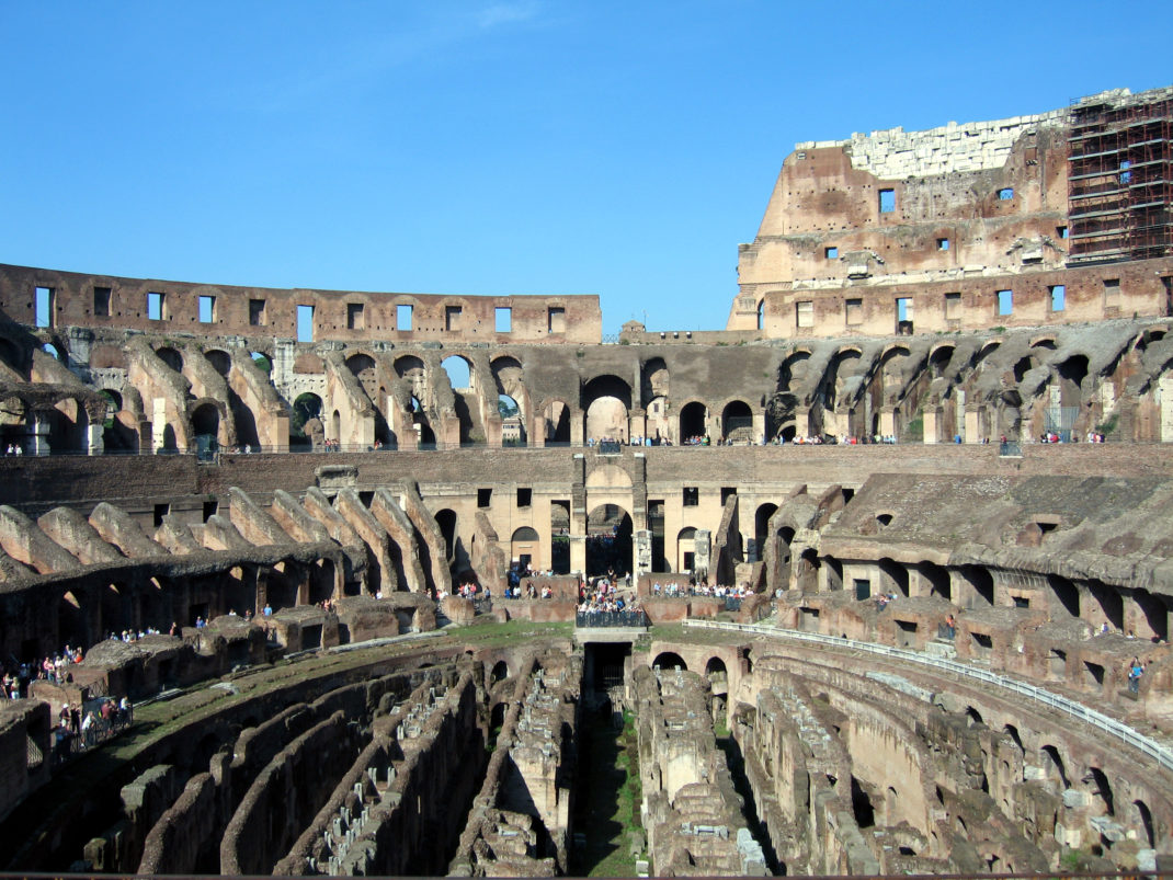 colosseum new7wonders of the world