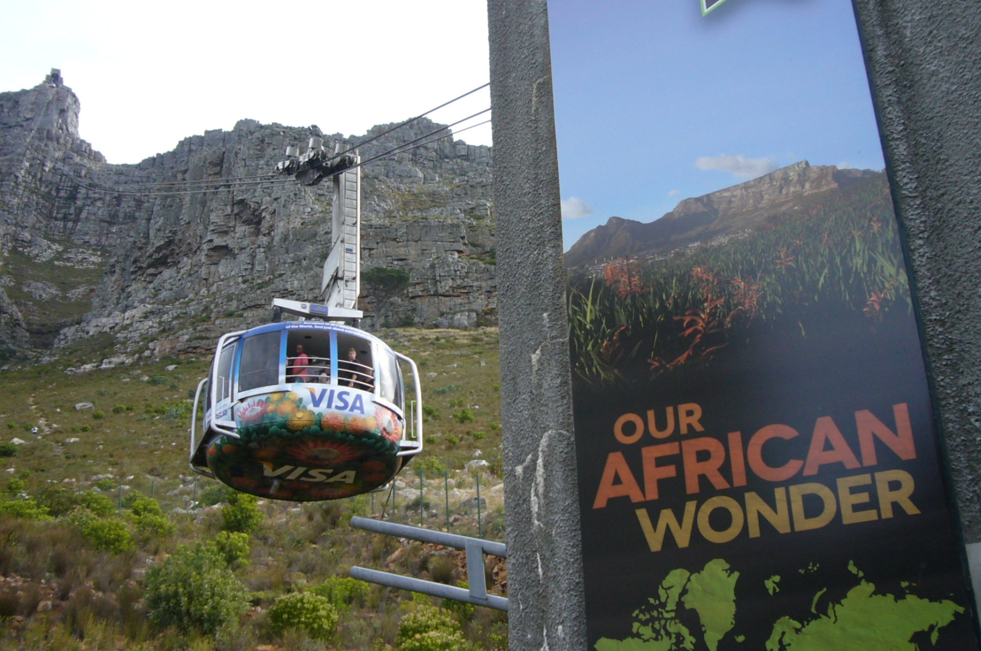 Table Mountain New7Wonders of Nature