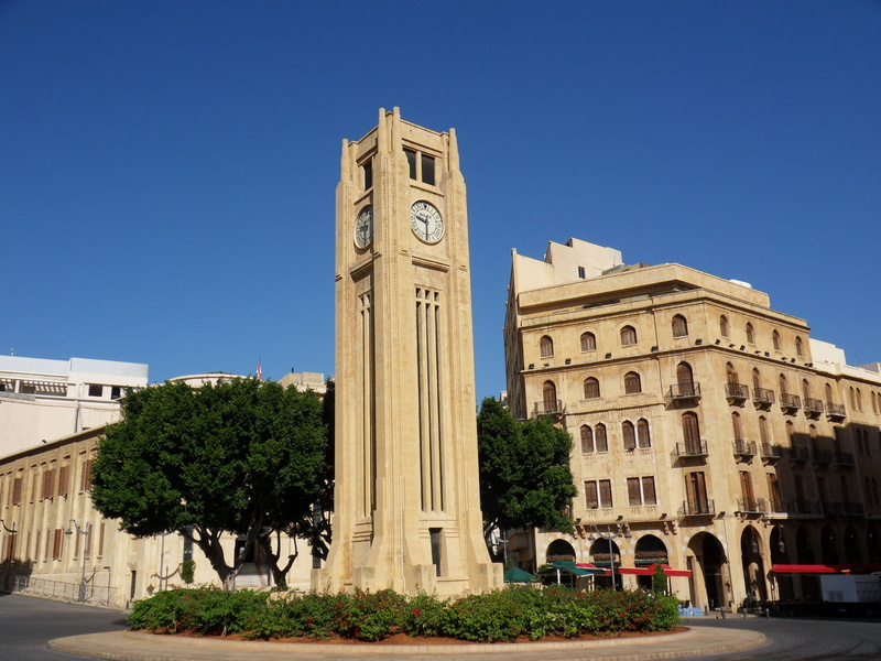 Place del' Etoile in Beirut